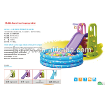 YQ1364 wholesale hotsale Preschool Kids Plastic Small happy Play Tube Slide to kids