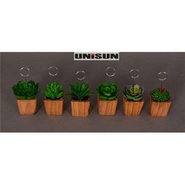 Décorations suspendues pour la maison avec des bonsons en pot traités facilement (18-HF9005ABCDEF)