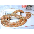 Women fashion Jewelry 18K gold necklace designs,stainless steel necklace wedding gold necklace designs in 10 grams