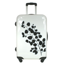 Heat Transfer Printing On Stylish Suitcase