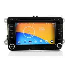 Android 4.4.4 System Car Audio for Volkswagen with GPS 3G/WiFi Phonebook
