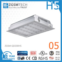 2016 New 200W LED Canopy Fixture with Super Bright 150lm/W LED