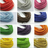 3MM PU Braided Leather Bolo Cord