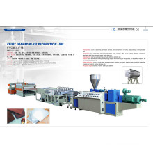 Machine d'extrusion de mousse de PVC