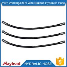 Stainless steel braided 2 inch rubber hose for high temperature                                                                                                         Supplier's Choice