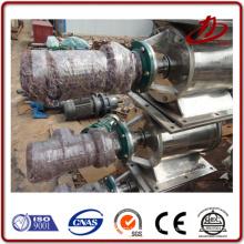 Válvula de descarga para la descarga de la escoria de la caldera