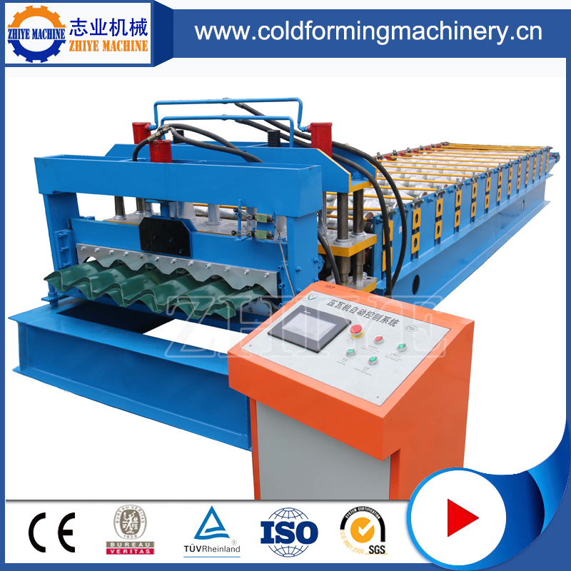 African Market Widely Used Glazed Tiles Rolling Mill
