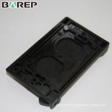 BAO-001 Couvercle d'interrupteur en plastique étanche noir ou personnalisé