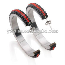 Wholesale Beautiful New Fashion Multicolor Stainless Steel Earring With Low Price