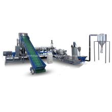 HDPE LDPE offcut film granulating machine