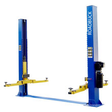 EFFICIENT 2 post vehicle lift equipment ,floor plate hydraulic two post car lift