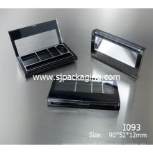 Moda quatro cores sombra Sombra sombra recipiente cosméticos recipiente sombra Sombra paleta cosmético embalagem