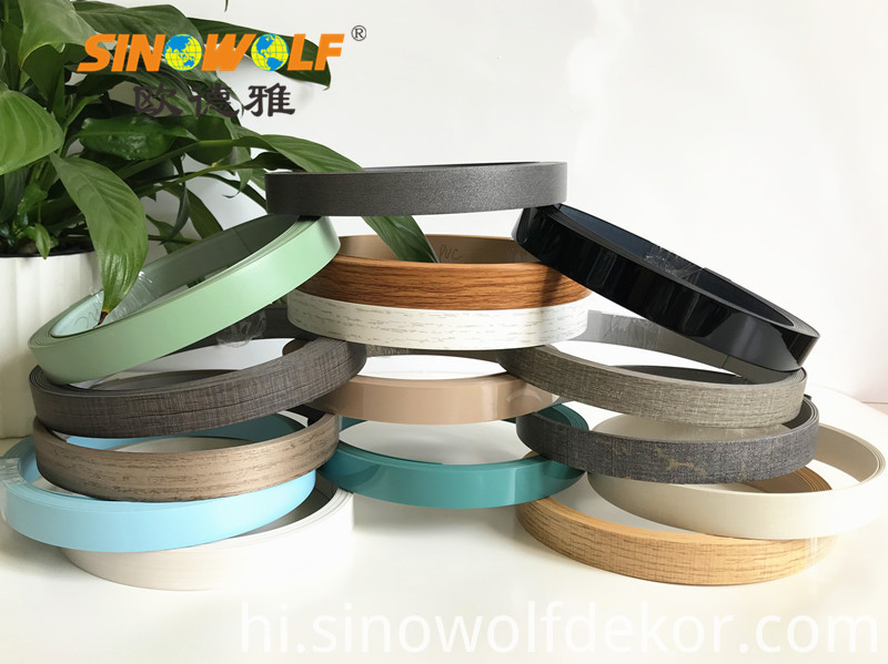 New Design ABS Wood Color Edge Banding