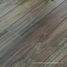 Dark Grey Rustic Antique Old Look Robinia Chinese Teak Solid Wood Flooring