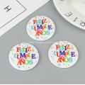 Custom Anime Round Tin Badge Pin Button