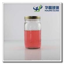 Hot Selling 30oz Candy Glass Mason Jar