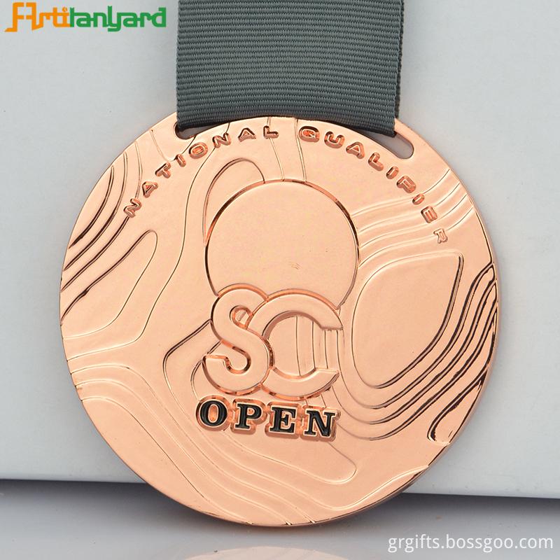 Custom Wrestling Medal