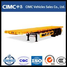 Cimc Container Chassis, Semirremolque de cama plana 40FT
