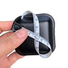 Ruban à mesurer carré en cuir véritable