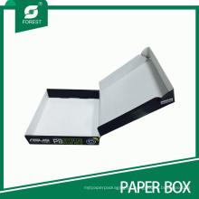 Caixa de embalagem de papel de produtos eletrônicos sem cola