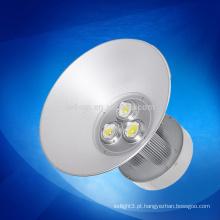 A luz highbay conduzida super brilhante da alta qualidade, baía elevada conduziu o dispositivo elétrico claro, 150w conduziu a luz elevada da baía