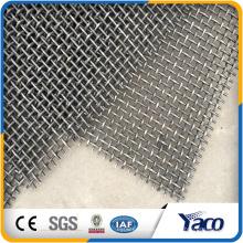treillis métallique serti dans le treillis métallique d'acier, application maille crêpée (fabrication d'Anping)