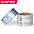 Impressão de etiqueta de PVC cortada à prova d'água personalizada