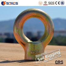 JIS-Art galvanisierte Kohlenstoffstahl-Ringmutter 1169