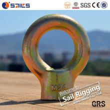 JIS Тип Гальванизированная углеродистая сталь кольцо Гайка 1169
