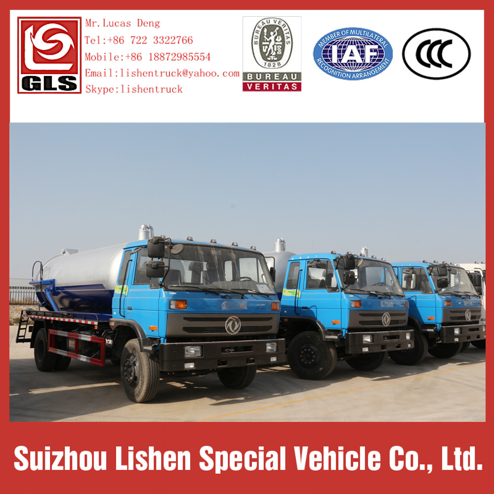 Dongfeng 153 Suction Truck
