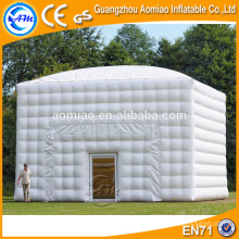 Customized inflatable outdoor bubble tent camping, cube inflatable tent price