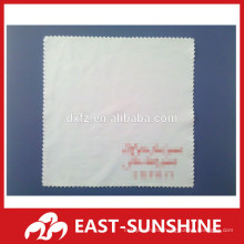 customized screen silk printed microfiber jewelry polishing cloth