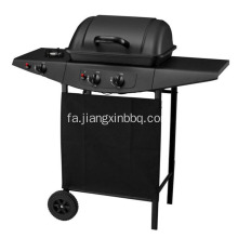 کوره 2 مشعل گاز BBQ Grill with Side Burner