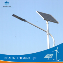 DELIGHT 6M Single Arm Solar LED de alumbrado urbano.