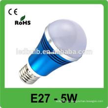 3 лет гарантированности высокое качество CE RoHS 5W dimmable вело свет пятна e27 220V