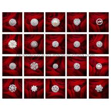 Горный Хрусталь Букет Цветок, Свадебные Украшения Контактный