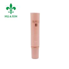 Tubo de essência hidratante branco pequena capacidade de plástico 8ml com tampa de rosca longa