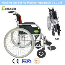 Foldable Aluminium Alloy Outdoors Manual Wheelchair