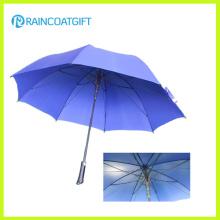 Paraguas al aire libre recto de aluminio a prueba de viento promocional