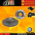 high quality OEM standard brake system manufacturer brake disc brake rotor disc brake for FORD SIERRA