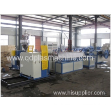 Plastic Pvc Spiral Steel Wire Reinforced/strengthed Hose Production Extrusion Line