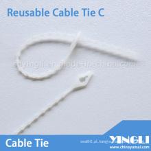 Abraçadeiras reutilizáveis de comprimento 160 mm
