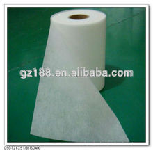 Hydrophilic 100% polyester spunbond nonwoven fabric for baby diaper
