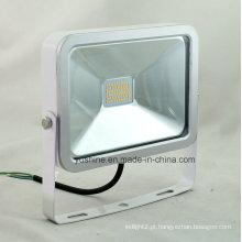 2835SMD Luz de inundação do diodo emissor de luz 20W 30W com corpo fino