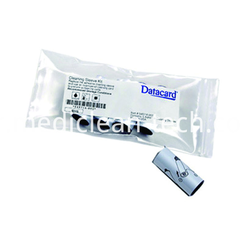 Datacard 549716-001 Adhesive Cleaning Sleeves - Qty. 5