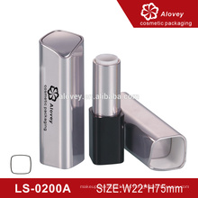 Tubo de tubo de lápiz de vacío vacía a medida de plástico cuadrado cosméticos de tubo