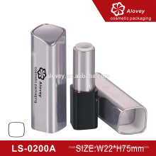 Wholesale Square plastic cosmetic tube custom empty lipstick tube