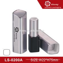 Оптовая площадь пластиковые косметические трубки пользовательских пустой губной помады трубки