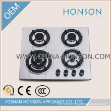 Gas Cooktops Type Cheap Stainless Steel Surface Material Gas Hob