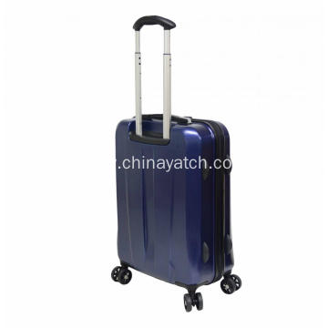 Attractive appearance trolley suitcase with TSA lock